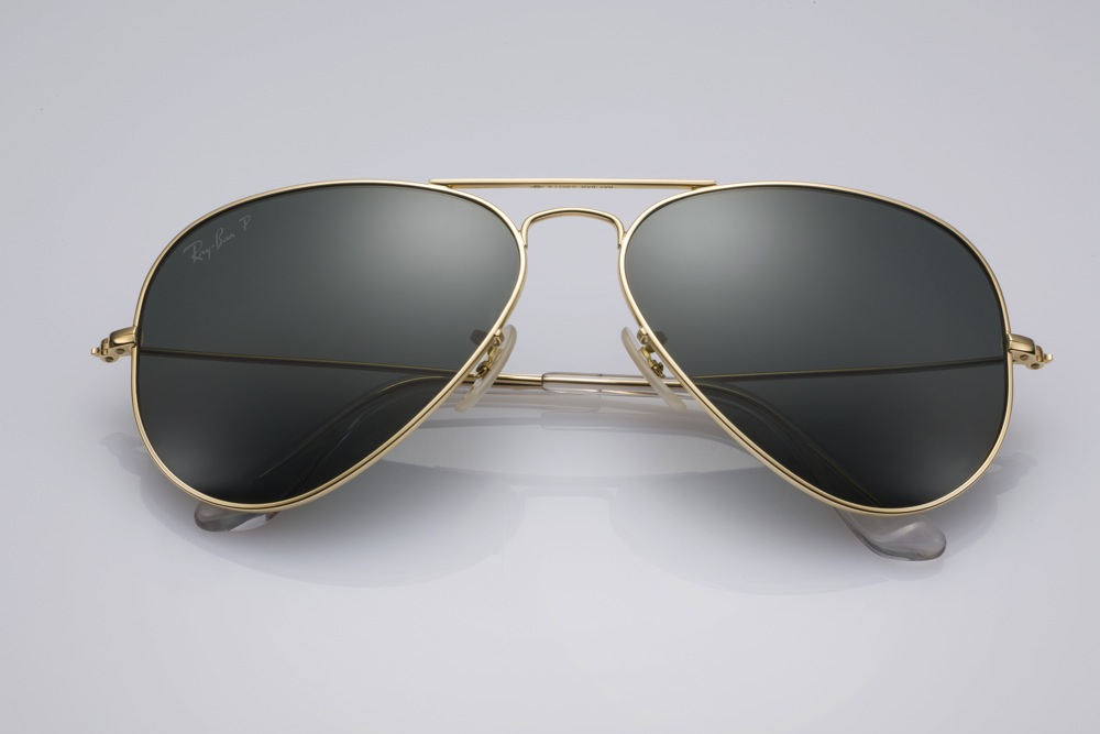 Ray-Ban Aviator Solid Gold_1