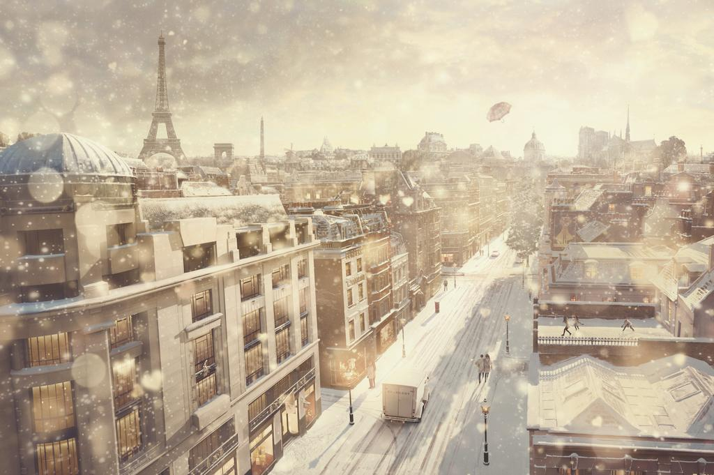Burberry With Love_ Festive cityscape Paris