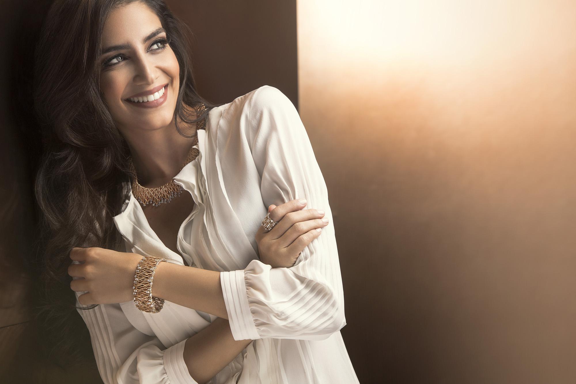 Jessica Kahawaty pour Roberto Coin (2)
