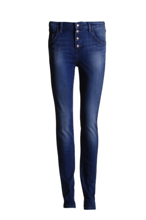 GUESS FEMME - BUTTON FRONT SKINNY