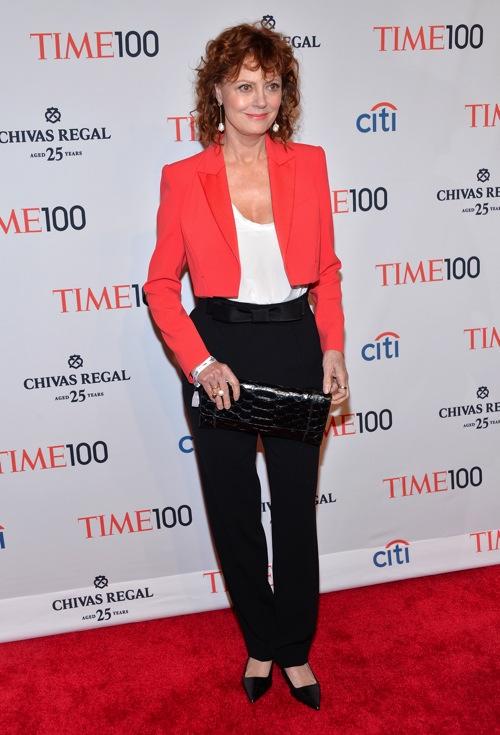 Susan Sarandon - Gala du _Time 100_ - 29 avril 2014