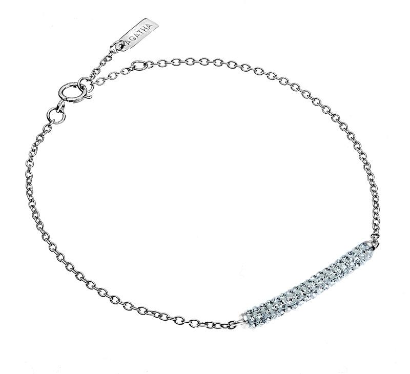 Agatha - Bracelet Tube strass