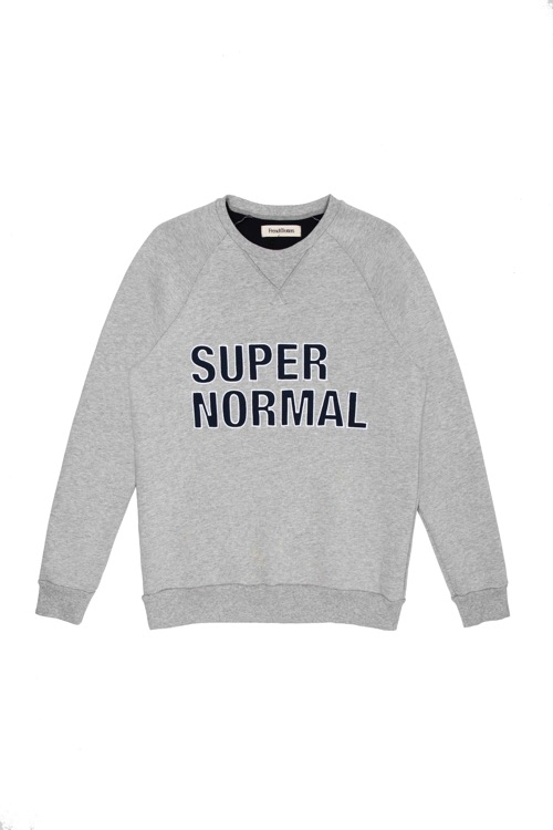 FRENCH TROTTERS - COLL SUPER NORMAL - SWEAT