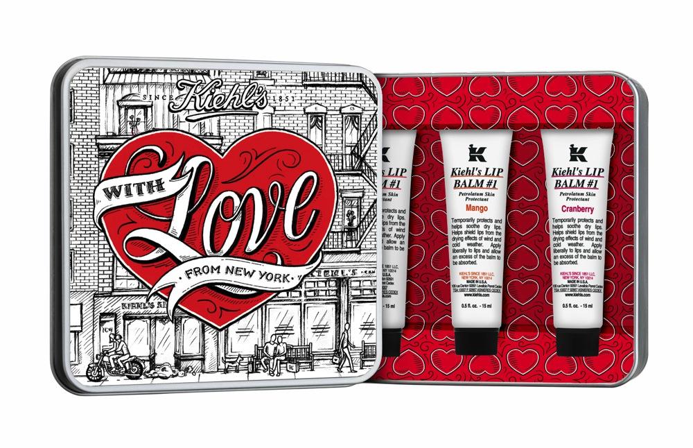 Kiehl's - Tin-set - Saint Valentin 2015