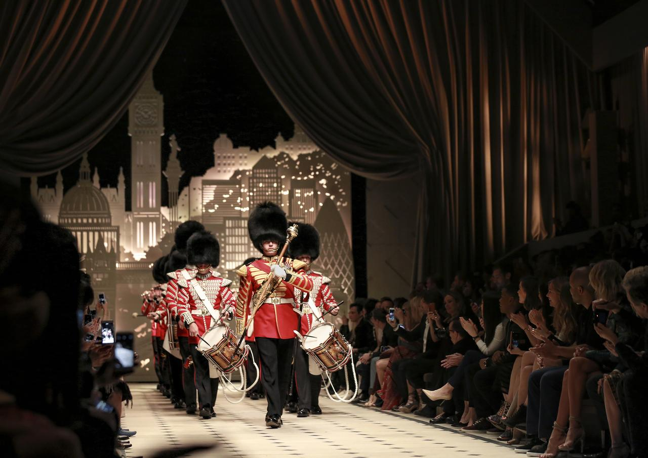 Burberry _London in Los Angeles_ Show Finale - 1