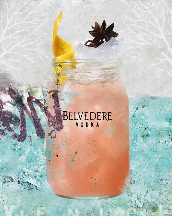 Cocktail Belvedere Pink Venice - La Chambre Noire 2015