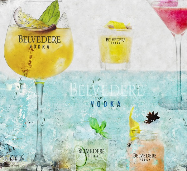 Cocktails Belvedere - Collection Summer - La Chambre Noire 2015
