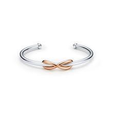 Bracelet Tiffany Infinity en or rose  - Opération St-Valentin 16 Royal Monceau