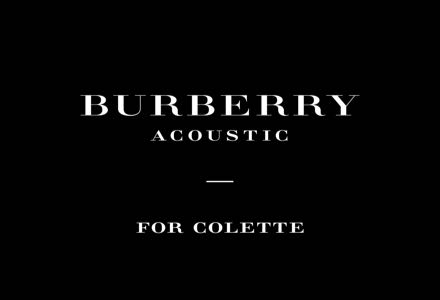 BURBERRY ACOUSTIC FOR COLETTE