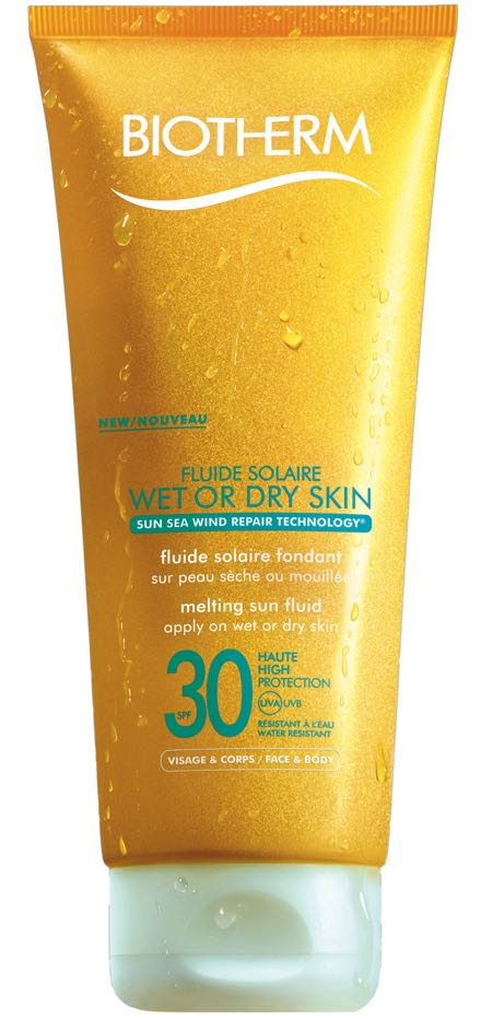Biotherm_Fluide solaire wet or dry skin