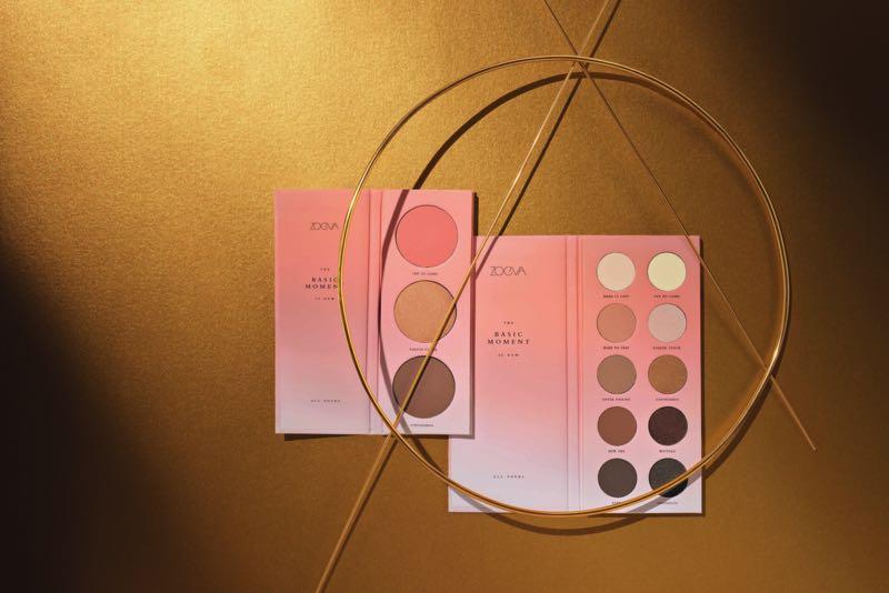 La Basic Moment Collection de Zoeva : deux palettes indispensables