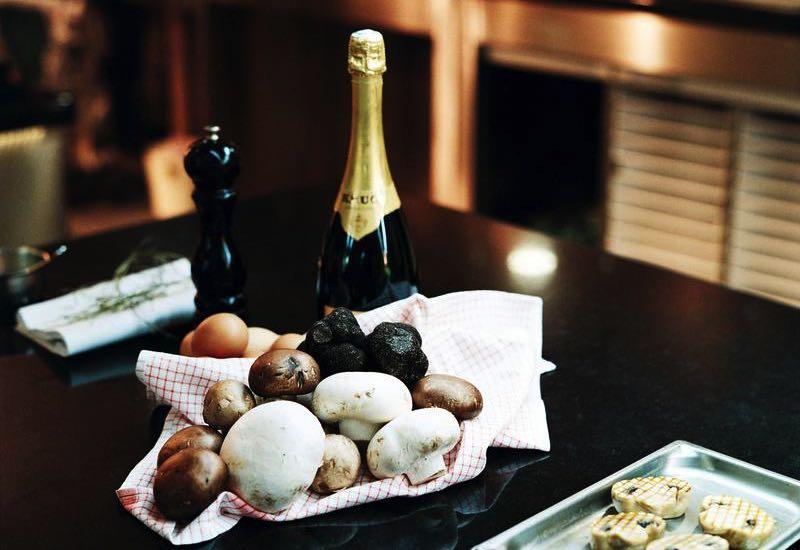 Les «Mois Krug» 2017 … quand le champagne Krug Grande Cuvée rencontre le champignon
