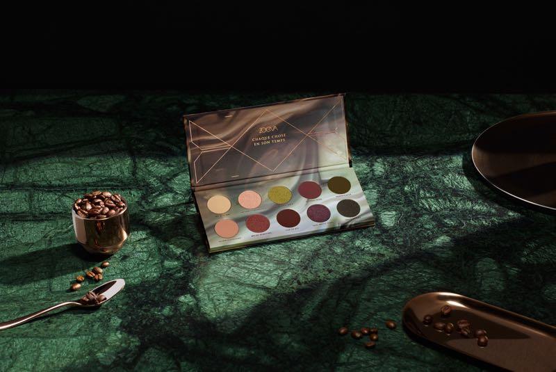 «Café», la nouvelle palette d'ombres à paupières Zoeva