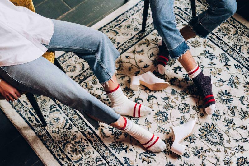 Valentine Witmeur Lab lance une ligne de chaussettes