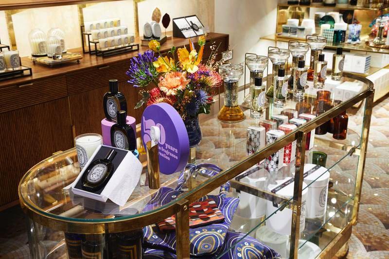 Ouverture d'une nouvelle boutique Diptyque à Paris