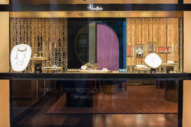 Milan Design Week 2018 : Pomellato présente … la collection de décoration «Couture» signée Lorenza Bozzoli