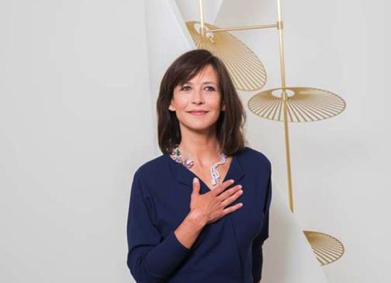 Paris: inauguration de la première boutique TTF en présence de Sophie Marceau