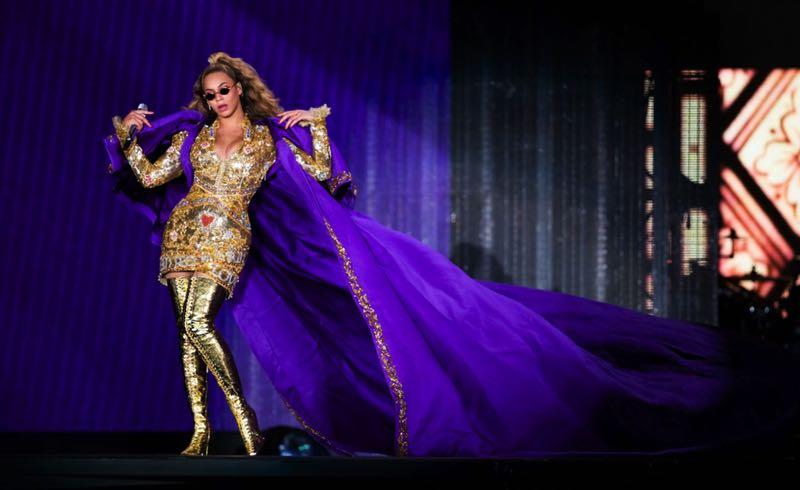 Sergio Rossi sur scène … avec Beyoncé