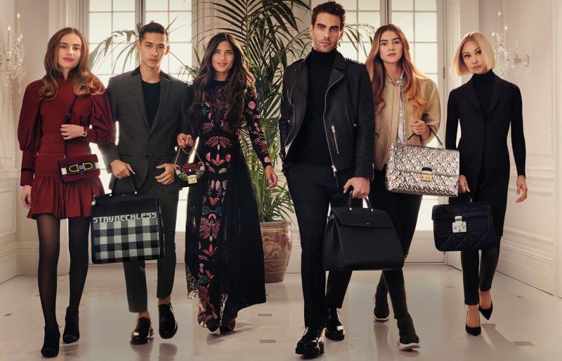 Furla invite des influenceurs dans sa nouvelle campagne Automne-Hiver 2018-2019