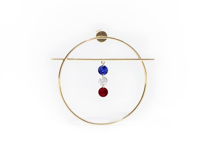 Édition limitée de bijoux signés Persée en Bleu Blanc Rouge