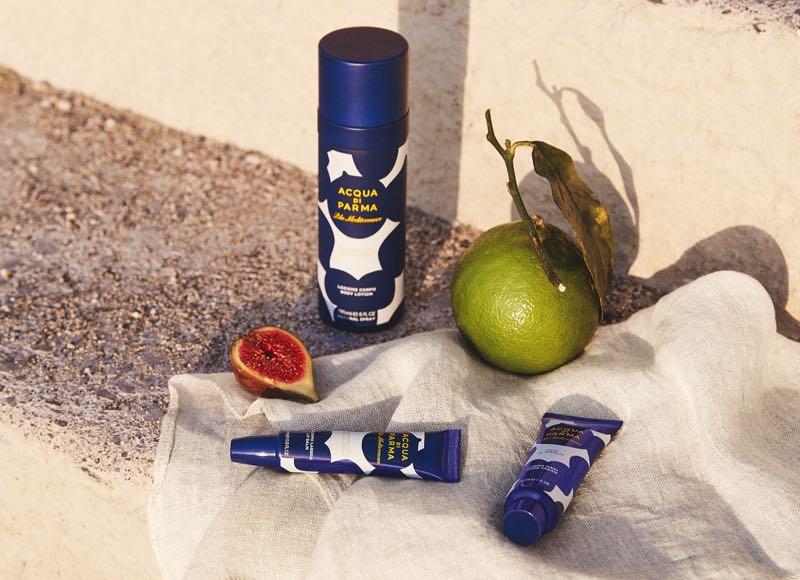 Les indispensables de l'été : les nouveaux produits de beauté Blu Mediterraneo d'Acqua di Parma