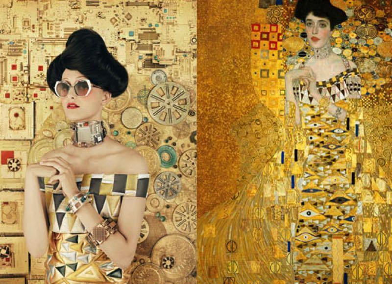 #BeAnartist Klimt, la nouvelle campagne Automne-Hiver 2018 d'Etnia Barcelona