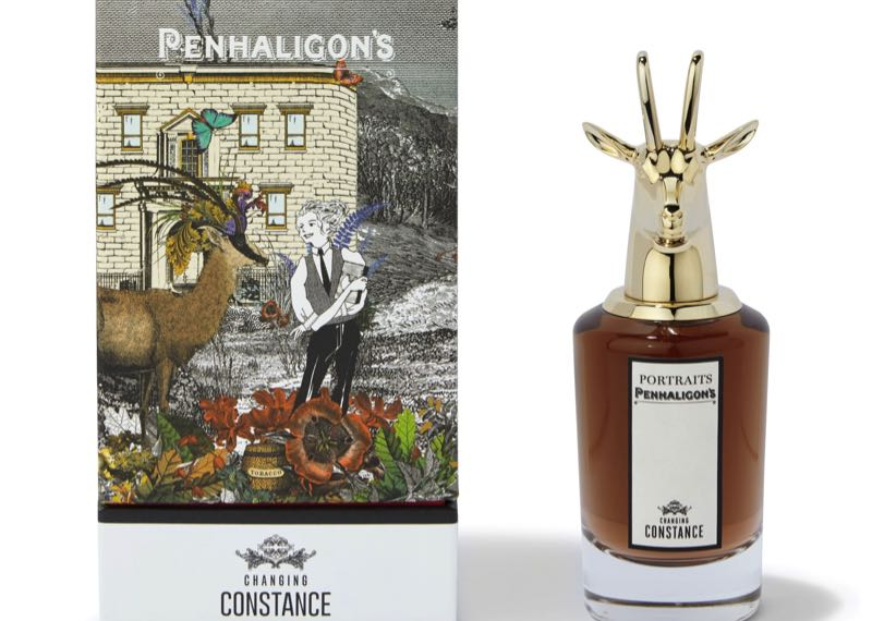 « Changing Constance » et « The Blazing Mister Sam », les nouveaux protagonistes de la collection « Portraits » de Penhaligon's