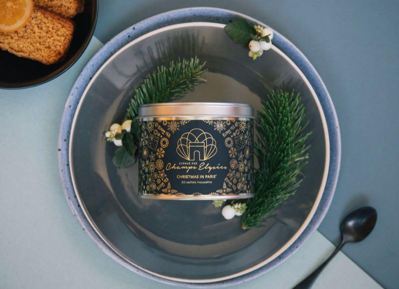 Thé de Noël en édition limitée : «Christmas in Paris» de Kusmi Tea
