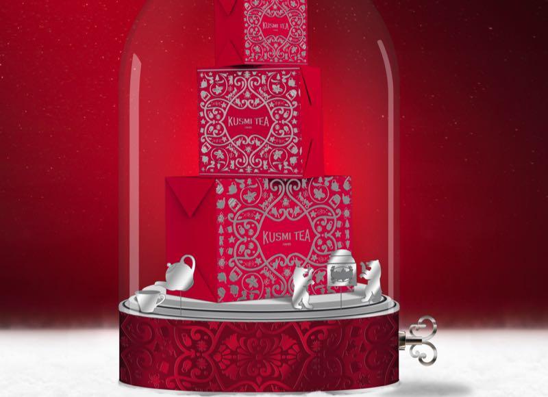 Noël 2018 : des idées cadeaux signées Kusmi Tea