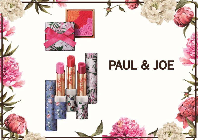 Édition limitée : le pouvoir des fleurs avec la collection beauté Printemps 2019 de Paul & Joe