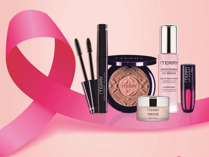 Octobre Rose 2019 : By Terry de nouveau partenaire de l'association «Le Cancer du Sein, Parlons-en !»