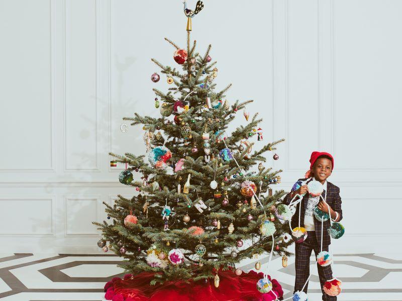 Anthropologie célèbre Noël à Paris, avec l'Hôtel des Grands Boulevards