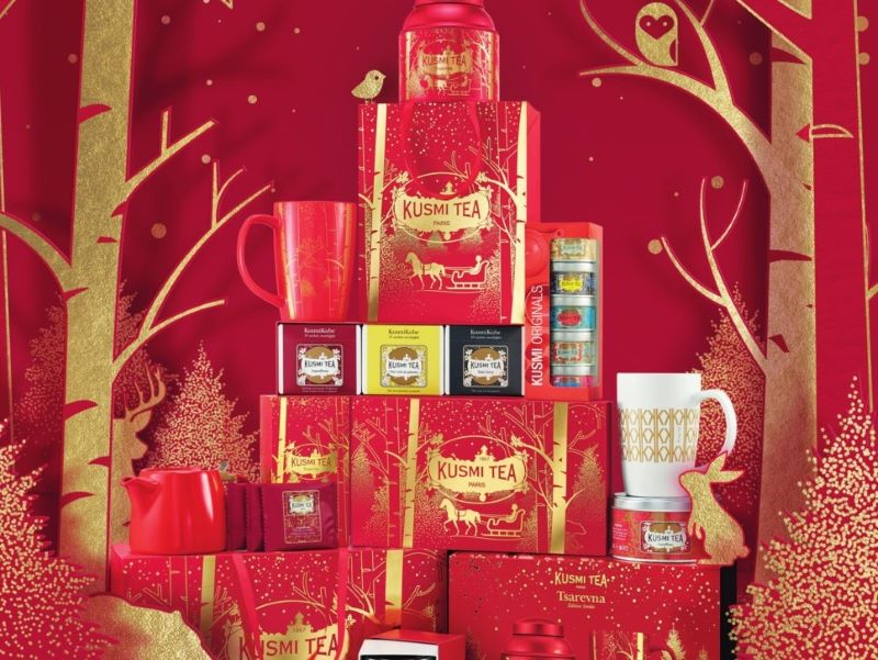 Une collection de Noël 2019 signée Kusmi Tea
