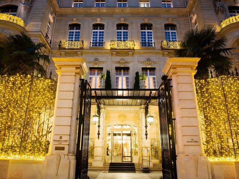 Toute la magie d'un Noël d'exception au Shangri-La Hotel, Paris