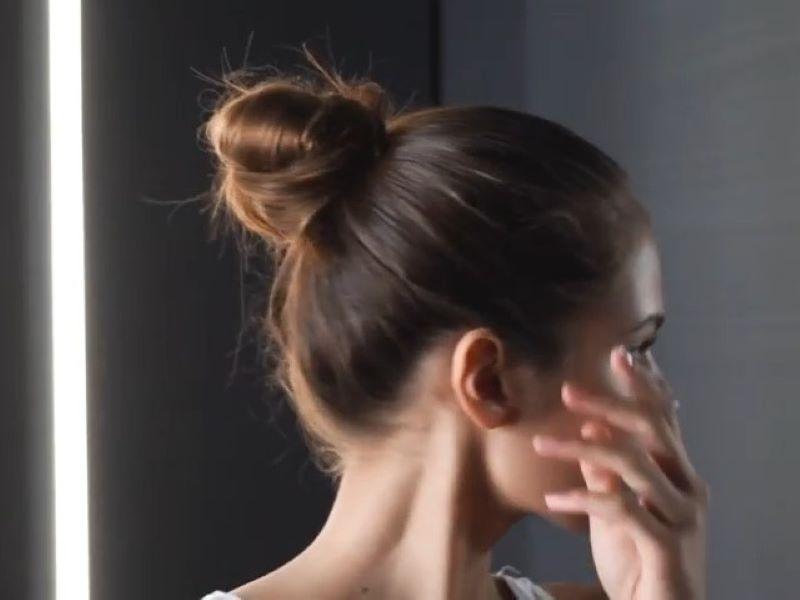 Tuto : le chignon coiffé décoiffé selon La Biosthétique