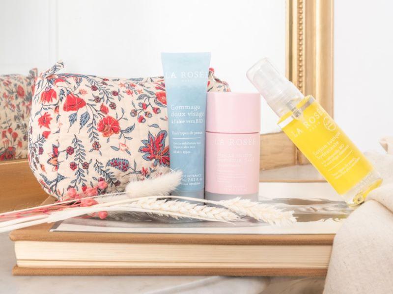 Collaboration exclusive de Fête des Mères : la trousse de beauté La Rosée x Antik Batik
