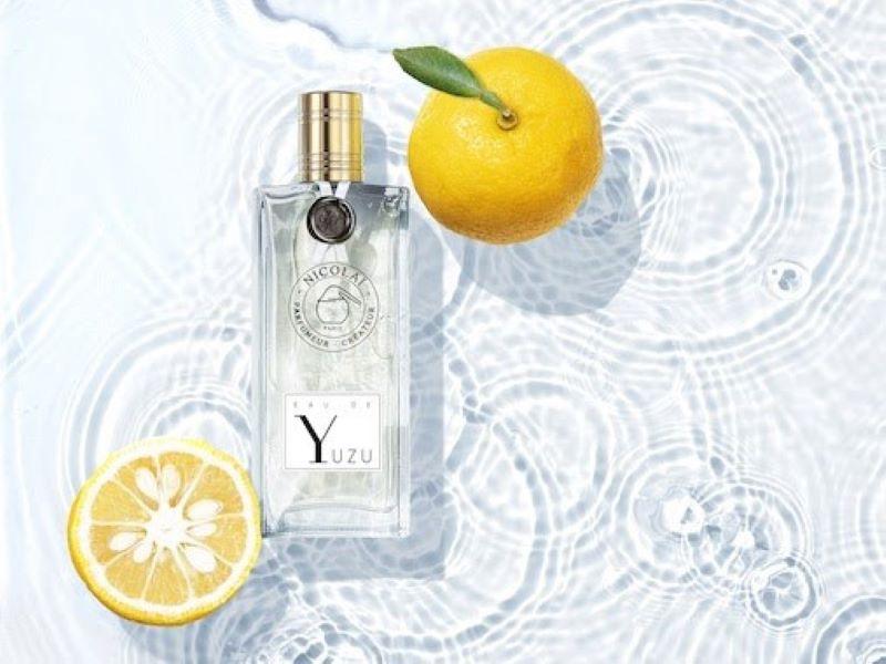 «Eau de Yuzu», la nouvelle eau fraîche de Nicolaï