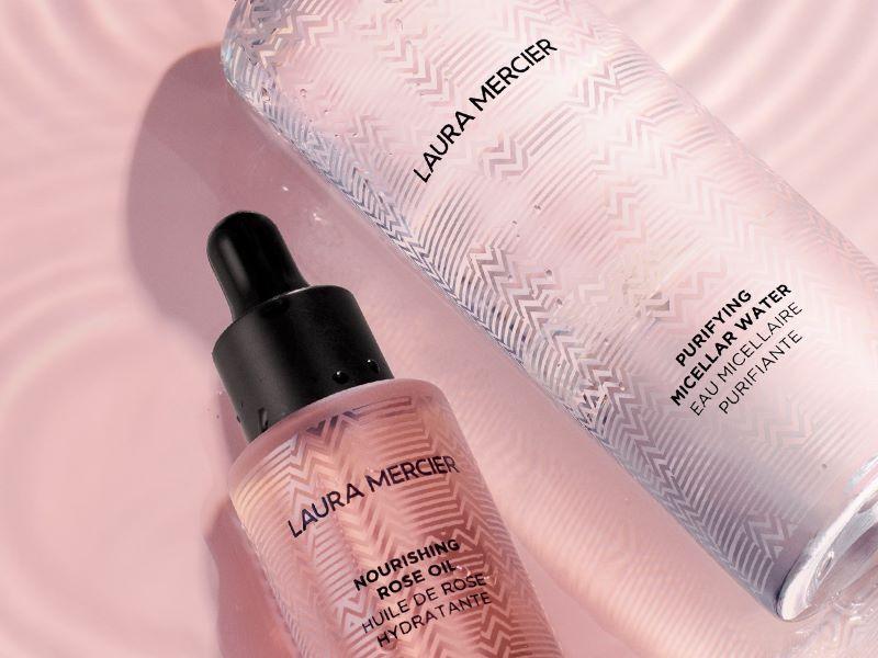 La nouvelle collection «Skin Essentials» de Laura Mercier : des soins pour un teint zéro défaut et un maquillage facilité