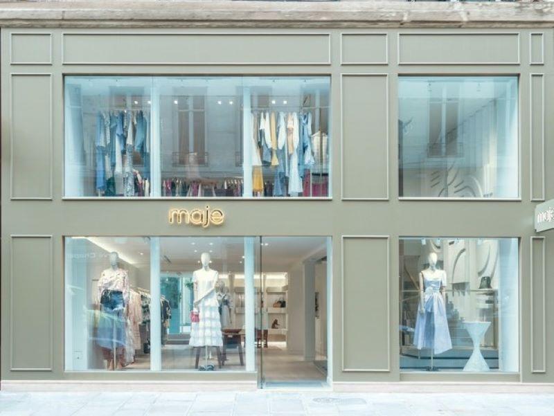Ouverture d'une nouvelle boutique Maje rue Saint-Honoré à Paris