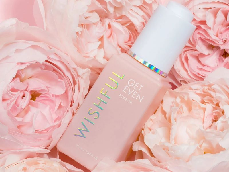 Wishful lance « Get Even Rose Oil », son premier sérum visage