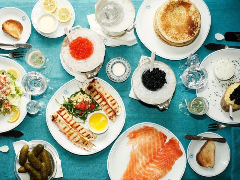 «Kaspia & Chill», le service de livraison à domicile de Caviar Kaspia
