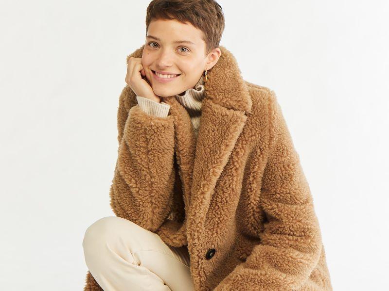 Vegan, le manteau en laine de chanvre Vanessa Bruno x Ecopel x Peltex