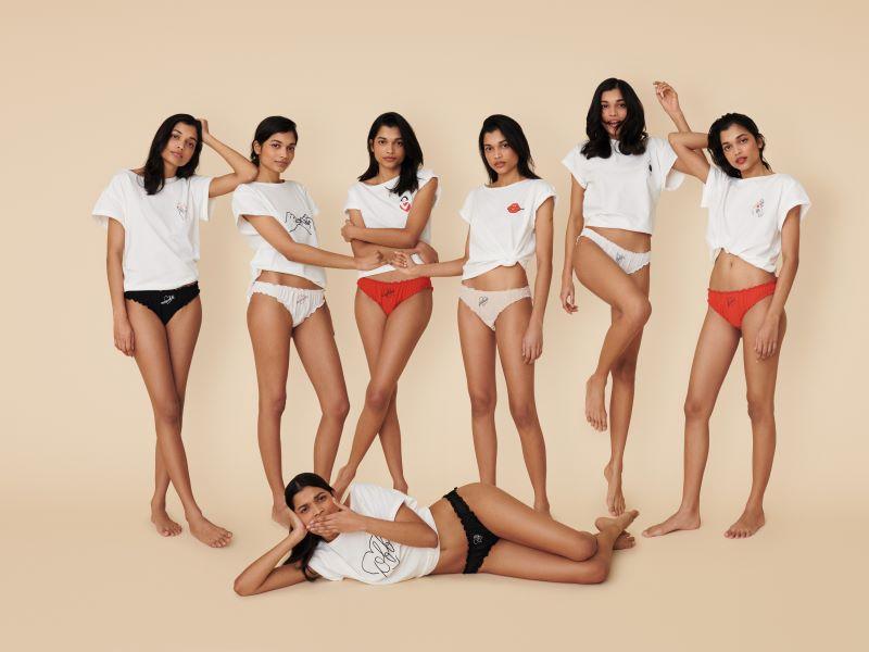 Collaboration exclusive Saint-Valentin : la collection Etam x Jean André