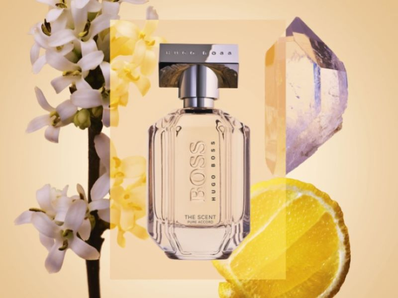Hugo Boss lance deux nouveaux parfums « Boss The Scent Pure Accord »