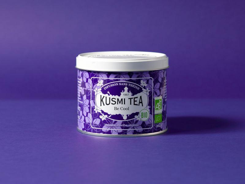 «Be Cool», l'infusion emblématique de Kusmi Tea devient bio