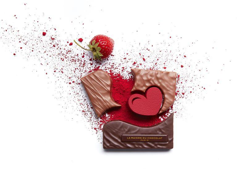 L'amour selon «Paris à l'Heure Bleue» de La Maison du Chocolat