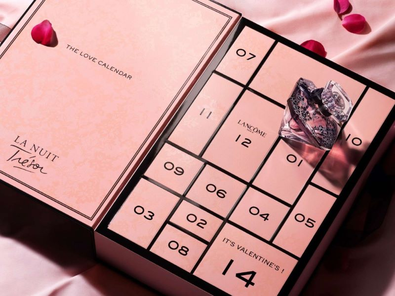 Lancôme lance son tout premier «Love Calendar» pour la Saint-Valentin