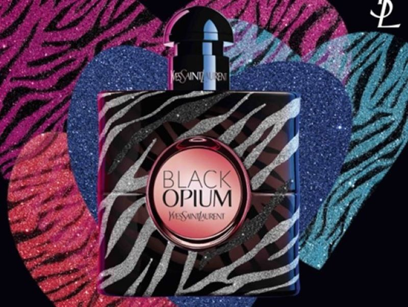 L'édition Saint-Valentin de « Black Opium » d'Yves Saint Laurent Beauté
