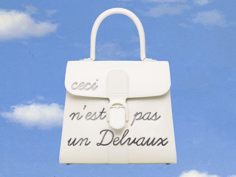La Maison Delvaux présente sa nouvelle collection «Magritte Act II»
