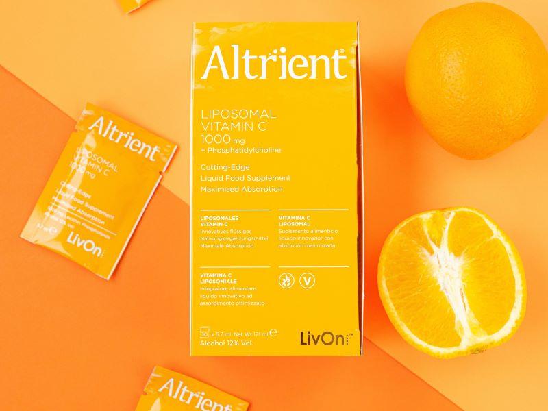 Objectif belle peau avec la vitamine C liposomale Altrient par LivOn